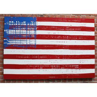 Decenni Custom Furniture Indivisible X United States Flag