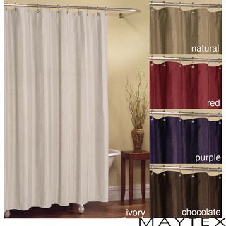 Chadwell Striped Polyester Fabric Shower Curtain (70 x 72