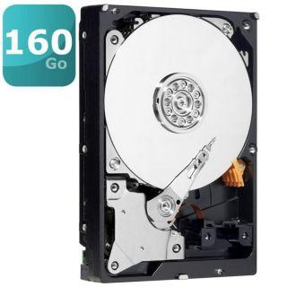 Disque dur interne   Capacité 160 Go   7200 trs/min   Interface SATA