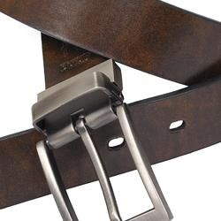 Joseph Abboud Mens Black/ Brown Reversible Belt