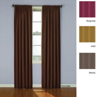 Eclipse Satin Stripe Crescent 63 inch Thermal Window Panel