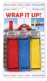 Kwik Tek WR 123 Wrap It Up 3 Per Blister Pack (Red, White