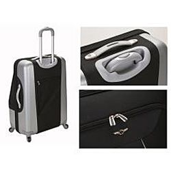 Rockland Rome Spinner Expandable 3 piece Luggage Set