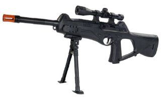 Spring Special OPS SM6 FPS 200 Airsoft Rifle With Bipod