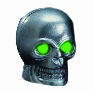 Pilot Automotive CZ 122G Skull Windshield Washer Nozzle with Green LED