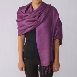 Journee Collection Womens Paisley Print Faux Pashmina Scarf