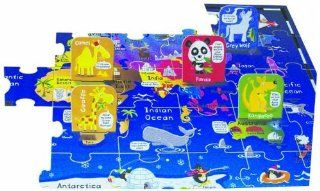 Infantino Puzzle, Animals of the World Baby