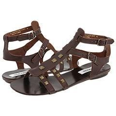 Steve Madden Catelina Brown Leather Sandals