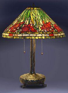 Daffodil Tiffany Style Table Lamp