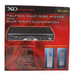 XO Vision Half Din DVD Player