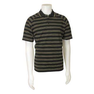 Adidas Mens Team Wear Climalite Striped Shirt