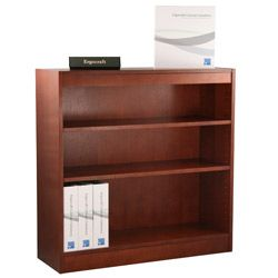 Ergocraft Laguna 3 shelf Wood Veneer Bookcase