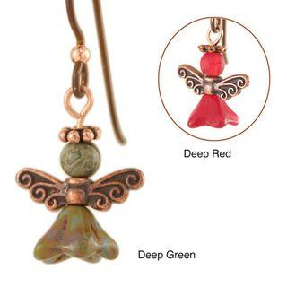 Ardent Designs Copper Angel of Kyprios Earrings