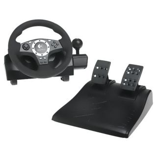 Logitech Driving Force Pro Racing Wheel for Sony PS3 & PS2