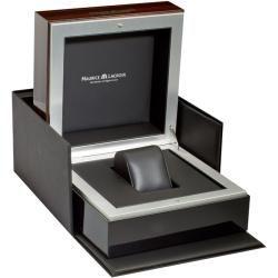 Maurice Lacroix Mens Pontos Black Dial Chronograph Titanium Watch