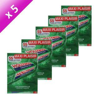 HOLLYWOOD Chlorophylle x5   Achat / Vente CONFISERIE DE SUCRE
