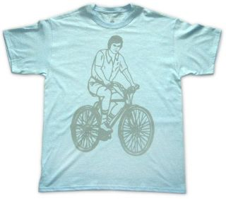 Mens Cotton Beach Cruiser Print T shirt