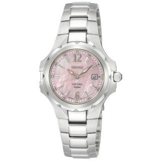 Seiko Womens Coutura Stainless Steel Quartz Watch