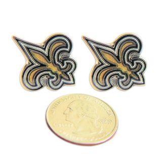 New Orleans Saints Stud Logo Earrings