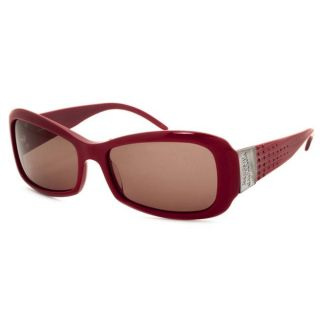 Jean Paul Gaultier Womens Red Crystal Sunglasses