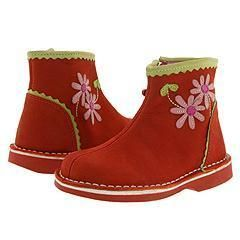 Kid Express Melody Red Nubuck Childrens Boots
