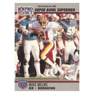 Super Bowl Greats Pro Set Trading Card #127 Redskins Collectibles