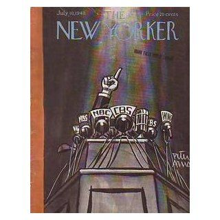 1948 New Yorker July 10 Presidential Convention Speaker