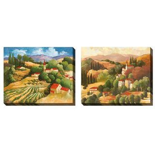 Cecile Broz The Village Oversized Canvas Art Set