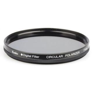Kenko Filtre polarisant circulaire 82 mm   Ce filtre polarisant permet