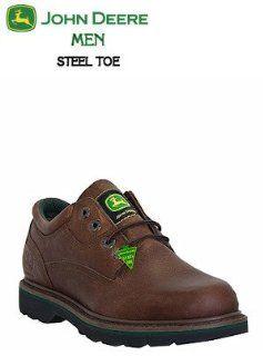 John Deere Agriculture Series Steel Toe Oxford JD7323: Shoes