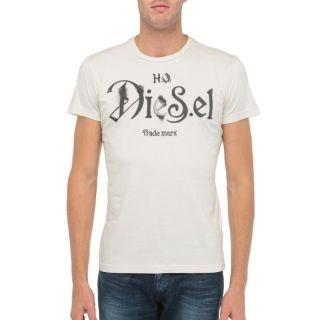 DIESEL T Shirt Ninao Homme Beige   Achat / Vente T SHIRT DIESEL T