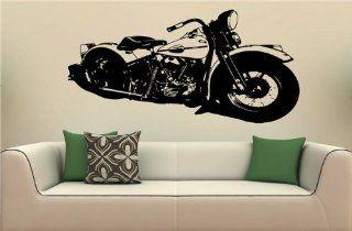 Wall MURAL Vinyl Decal Sticker 1940 Harley Davidson S