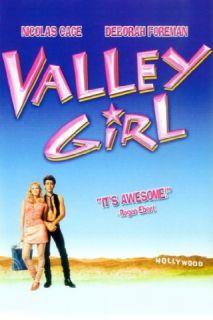 Valley Girl Nicolas Cage, Deborah Foreman, Elizabeth