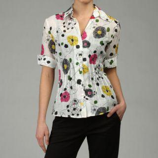Lafayette 148 Womens Sherelle Shirt