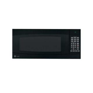 GE Profile PEM31DMBB Black 1 cu ft Spacemaker Microwave Oven