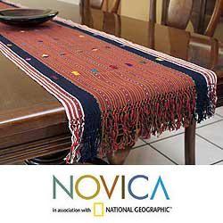 Cotton Guatemala Highlands Table Runner (Guatemala)