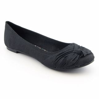 Rocket Dog Memories Womens Black Flat Ballet Shoes (Size 8.5