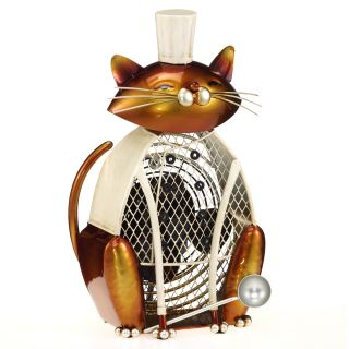 Deco Breeze DBF0172 Saute Cat Figurine Fan