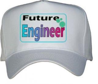 Future Engineer White Hat / Baseball Cap Clothing