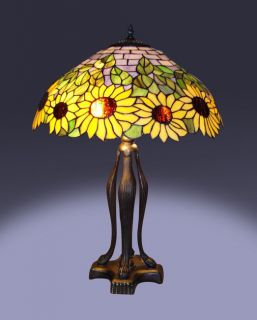 Tiffany style Sunflower Table Lamp