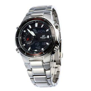 Casio Mens EFA131D 1A1V Silver Stainless Steel Quartz Watch with