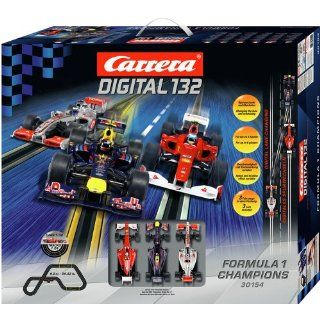 Carrera Digital 132 Formula 1 Champions Race Car Set: Toys