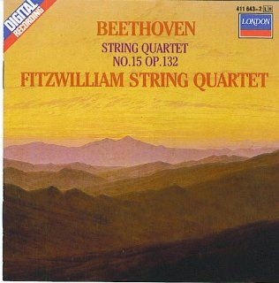 Beethoven String Quartet In A Minor, Op. 132 Fitzwilliam