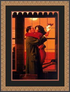 Jack Vettriano Back Where You Belong Framed Art Print
