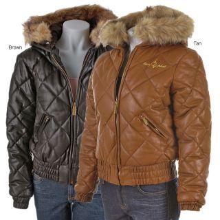 Baby Phat Italian Lamb Leather Jacket
