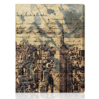 Oliver Gal Artist Co. The Empire Gallery wrapped Canvas Art Today $