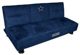 Baseline Dallas Cowboys Convertible Sofa With Tray Sports