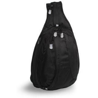 World Stacy Black Mini Sling Bag