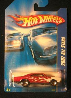Hot Wheels 2007 137 All Stars 1967 Pontiac GTO RED w/White