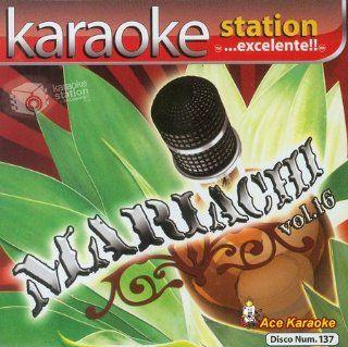Karaoke Station KSA 137   Mariachi Vol. 16 Spanish CDG